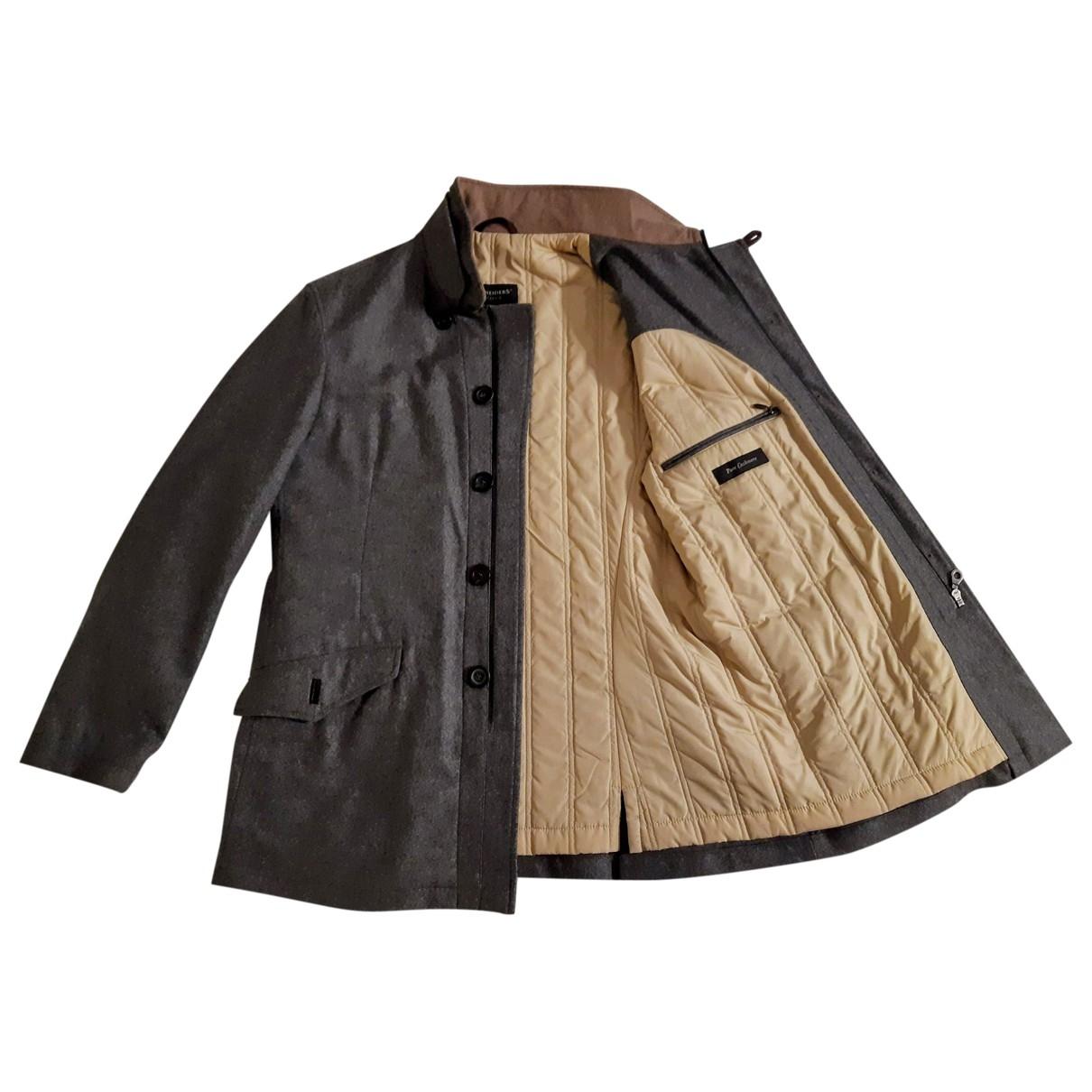 Non Signé / Unsigned \N Grey Cashmere jacket  for Men L International