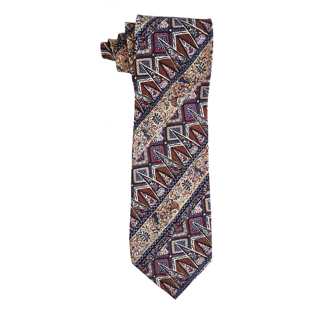 Emporio Armani \N Multicolour Silk Ties for Men \N