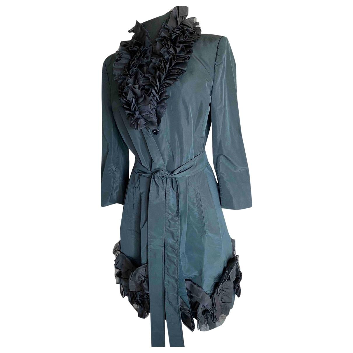 D&g \N Black Silk coat for Women 44 IT
