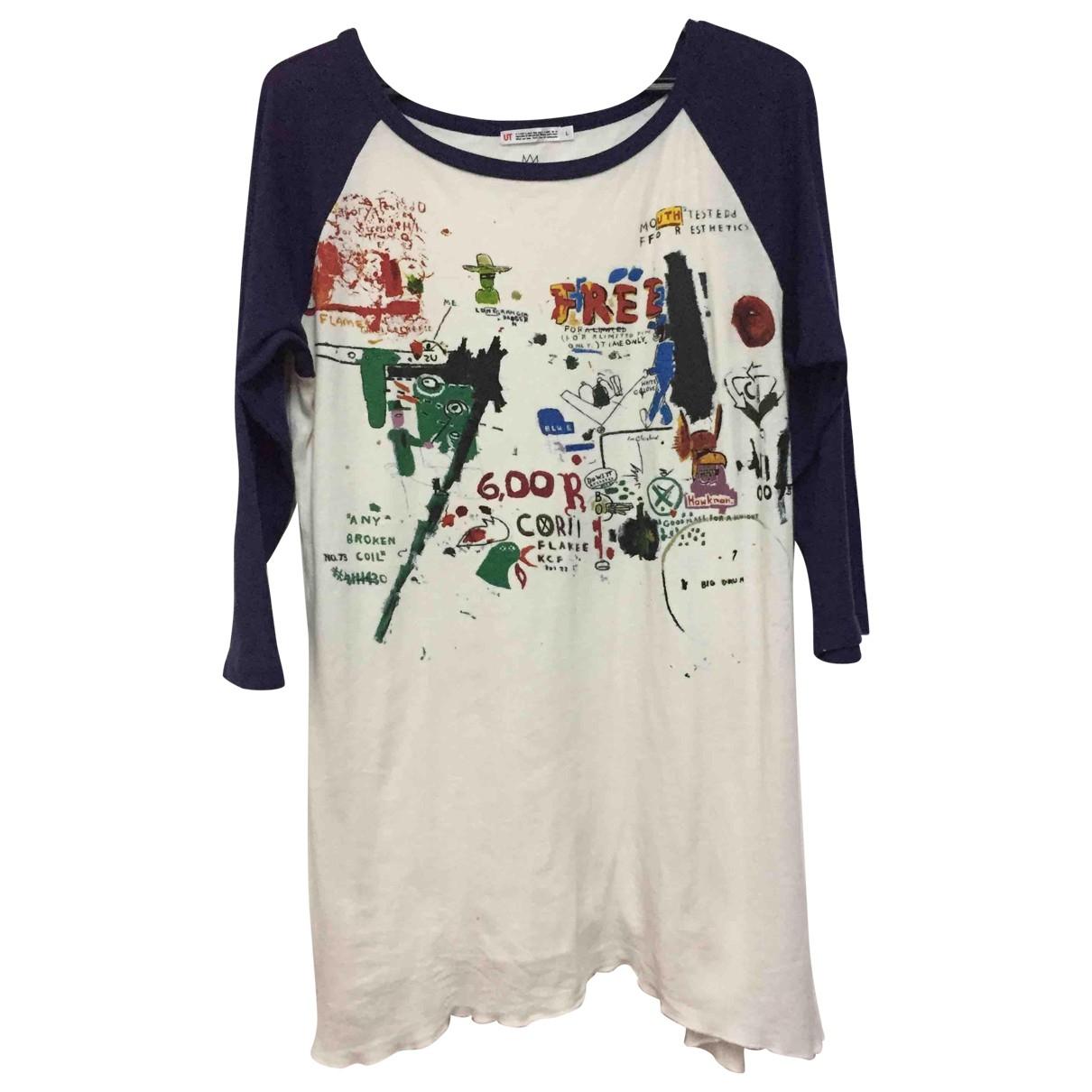 Jean Michel Basquiat - Top   pour femme en coton