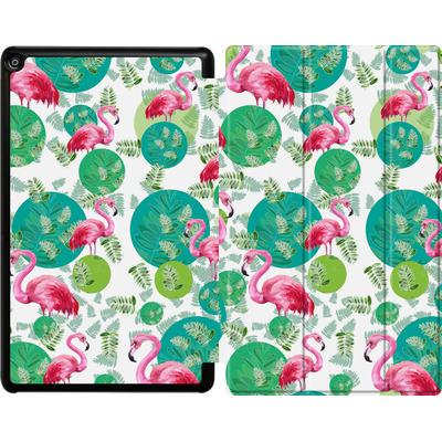 Amazon Fire HD 10 (2017) Tablet Smart Case - Flamingo Land von Mukta Lata Barua