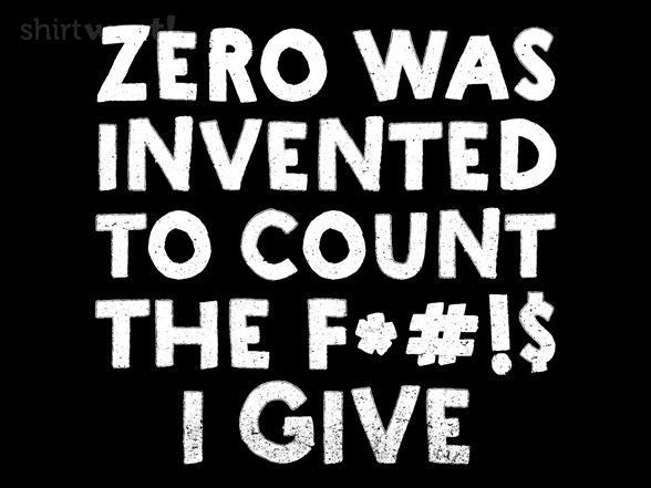The Invention Of Zero T Shirt