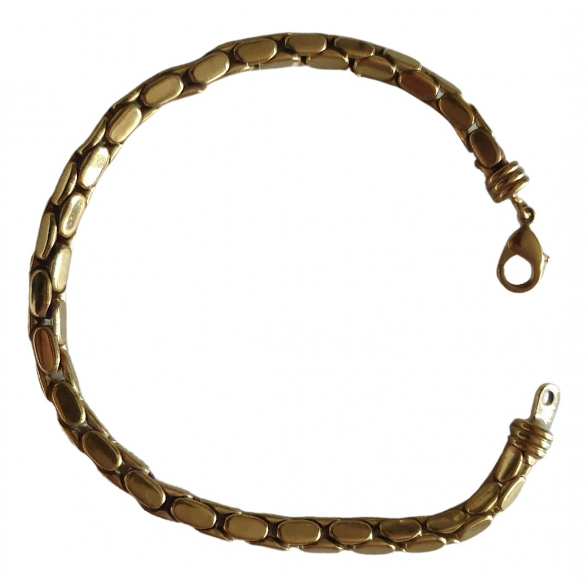 Non Signe / Unsigned \N Armband in  Gold Vergoldet