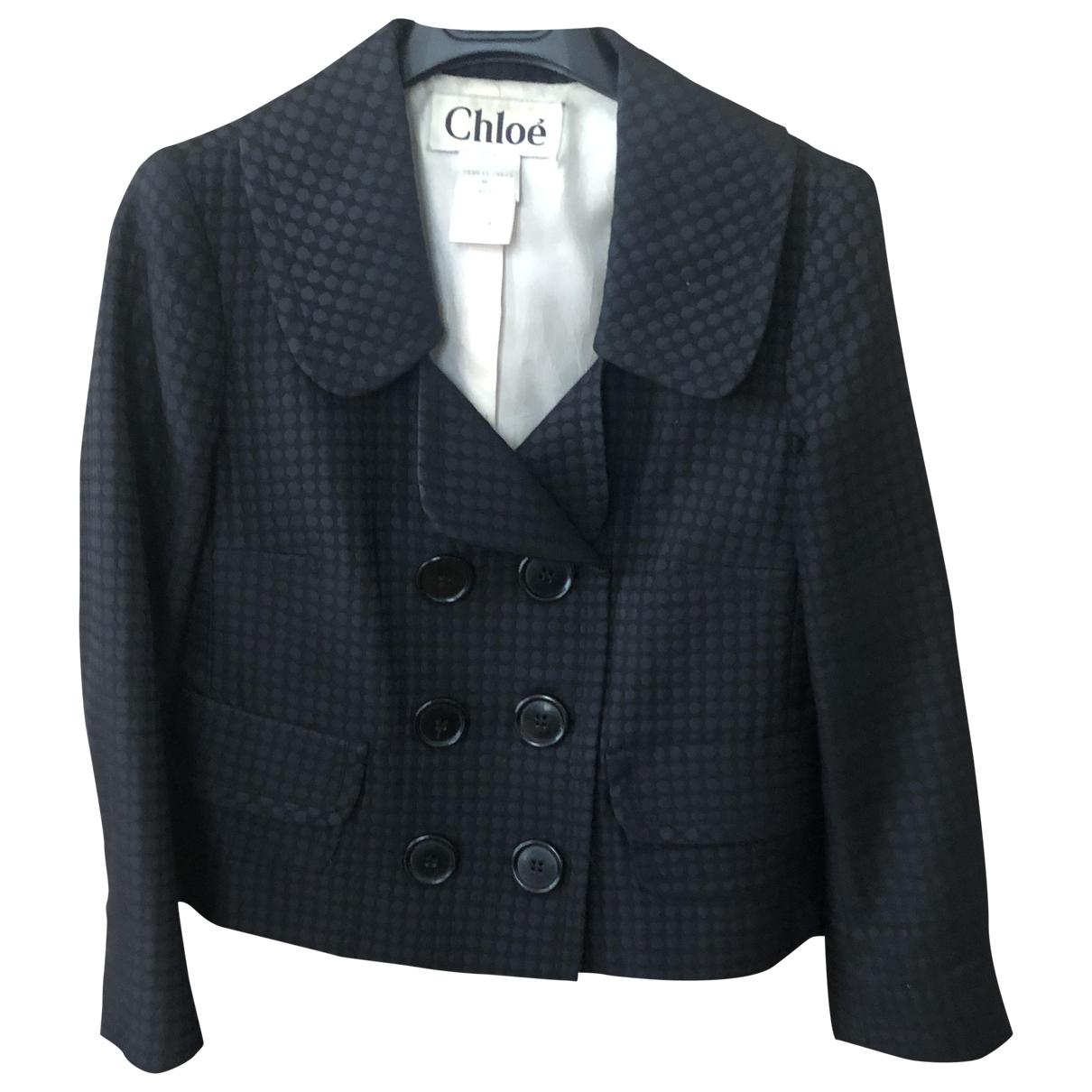 Chloé \N Black jacket for Women 36 FR