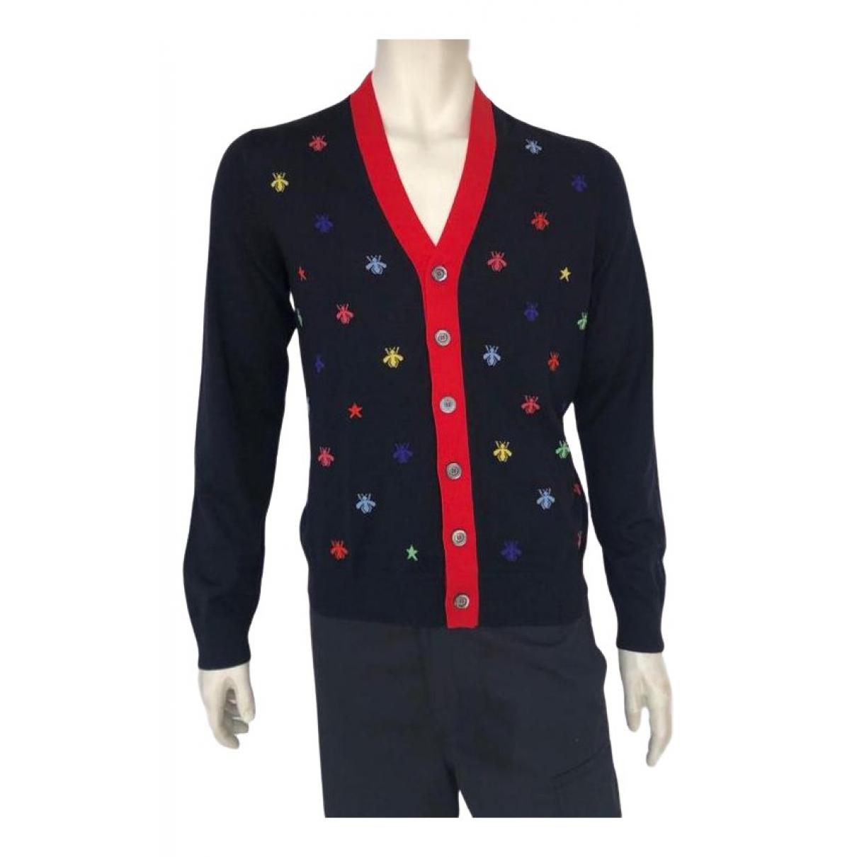 Gucci \N Navy Wool Knitwear & Sweatshirts for Men XL International