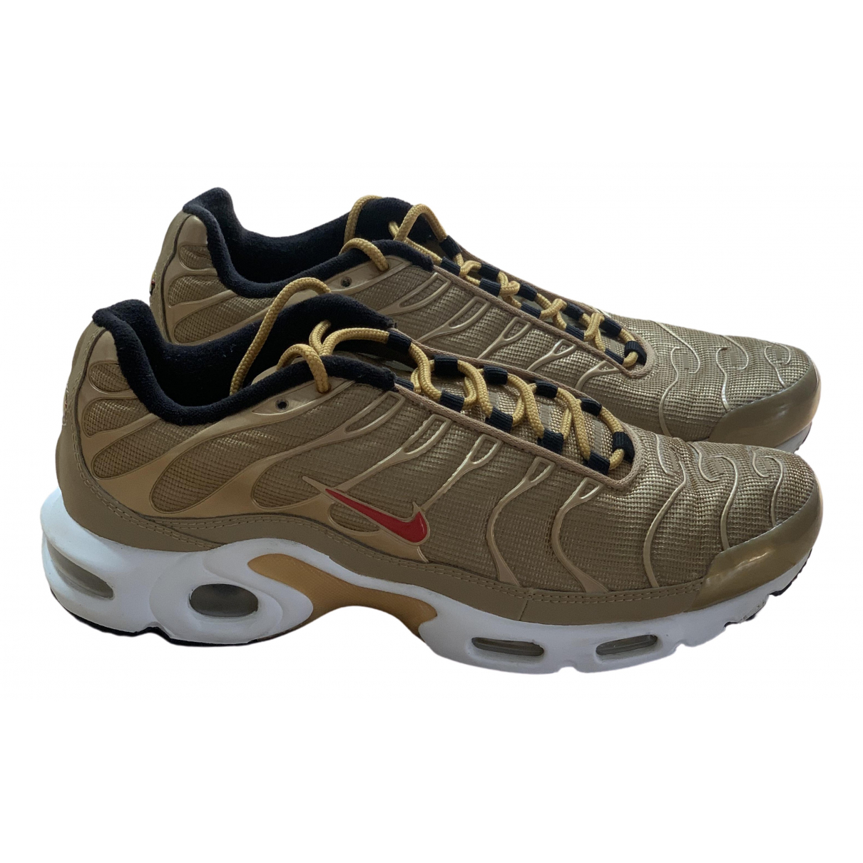 Nike Air Max Plus  Gold Trainers for Women 41 EU