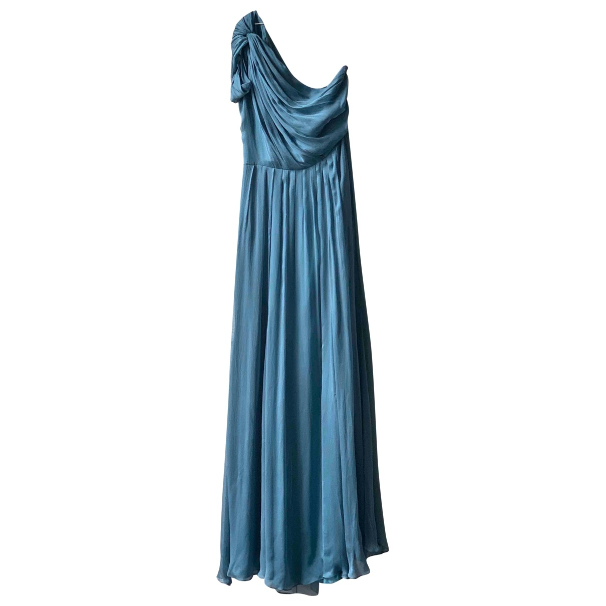 Matthew Williamson \N Kleid in  Blau Seide