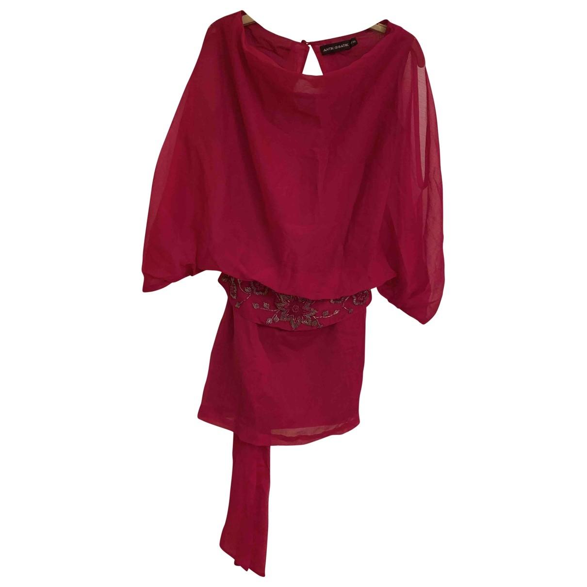 Antik Batik - Robe   pour femme - rose
