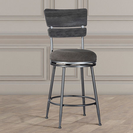 Hillsdale House Counter Height Bar Stool, One Size , Gray