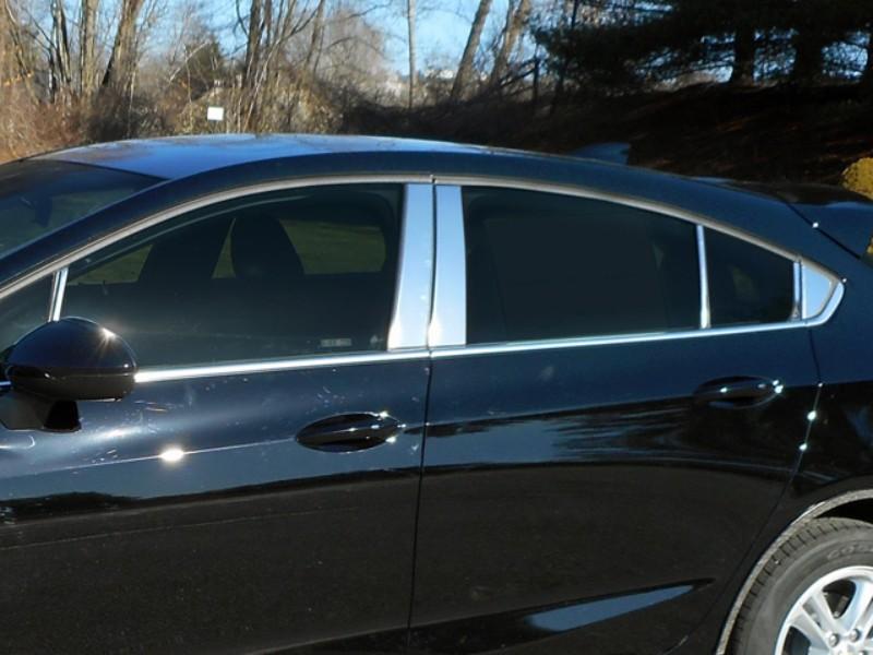 Quality Automotive Accessories Pillar Post Trim  Chevrolet Cruze Hatchback 17-18