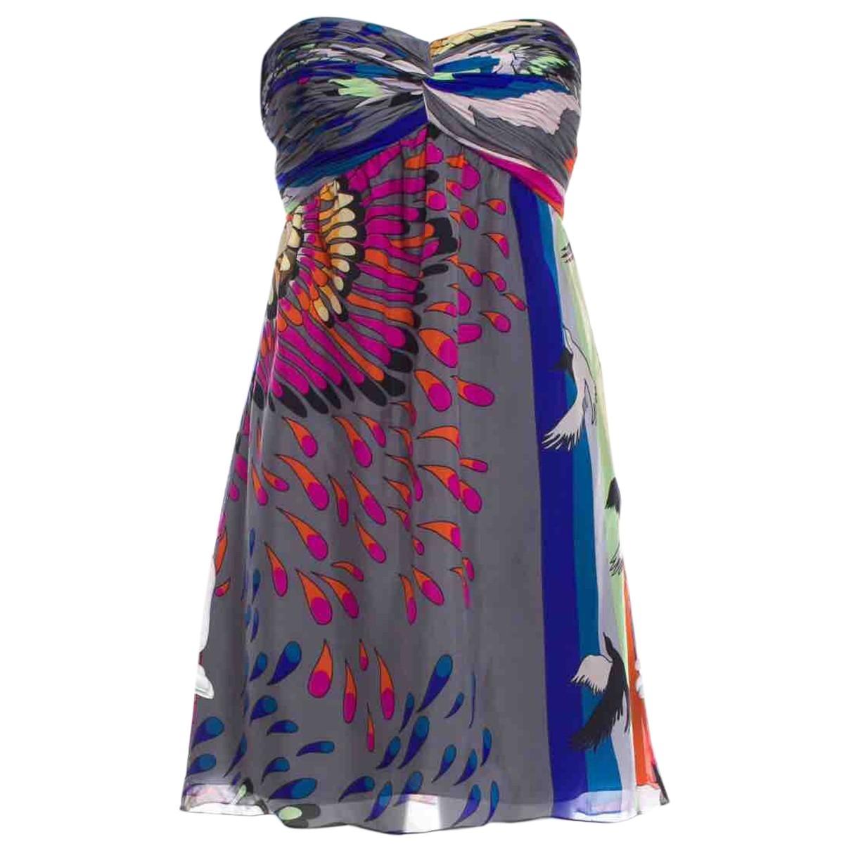 Mini vestido de Seda Tibi