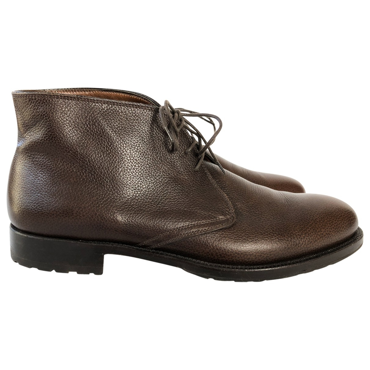 Fratelli Rossetti \N Brown Leather Boots for Men 7 UK