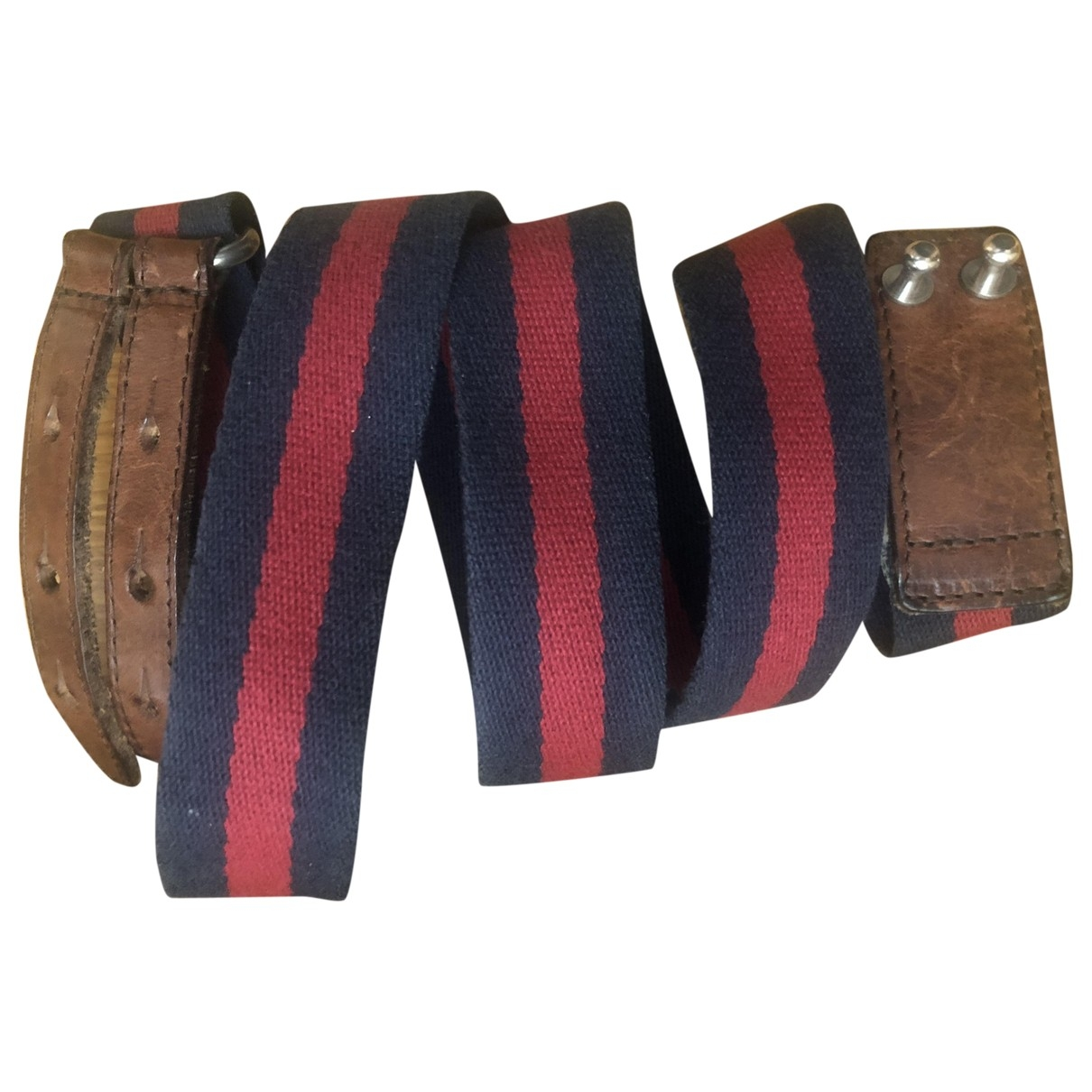 Dsquared2 \N Blue Cloth belt for Men 90 cm