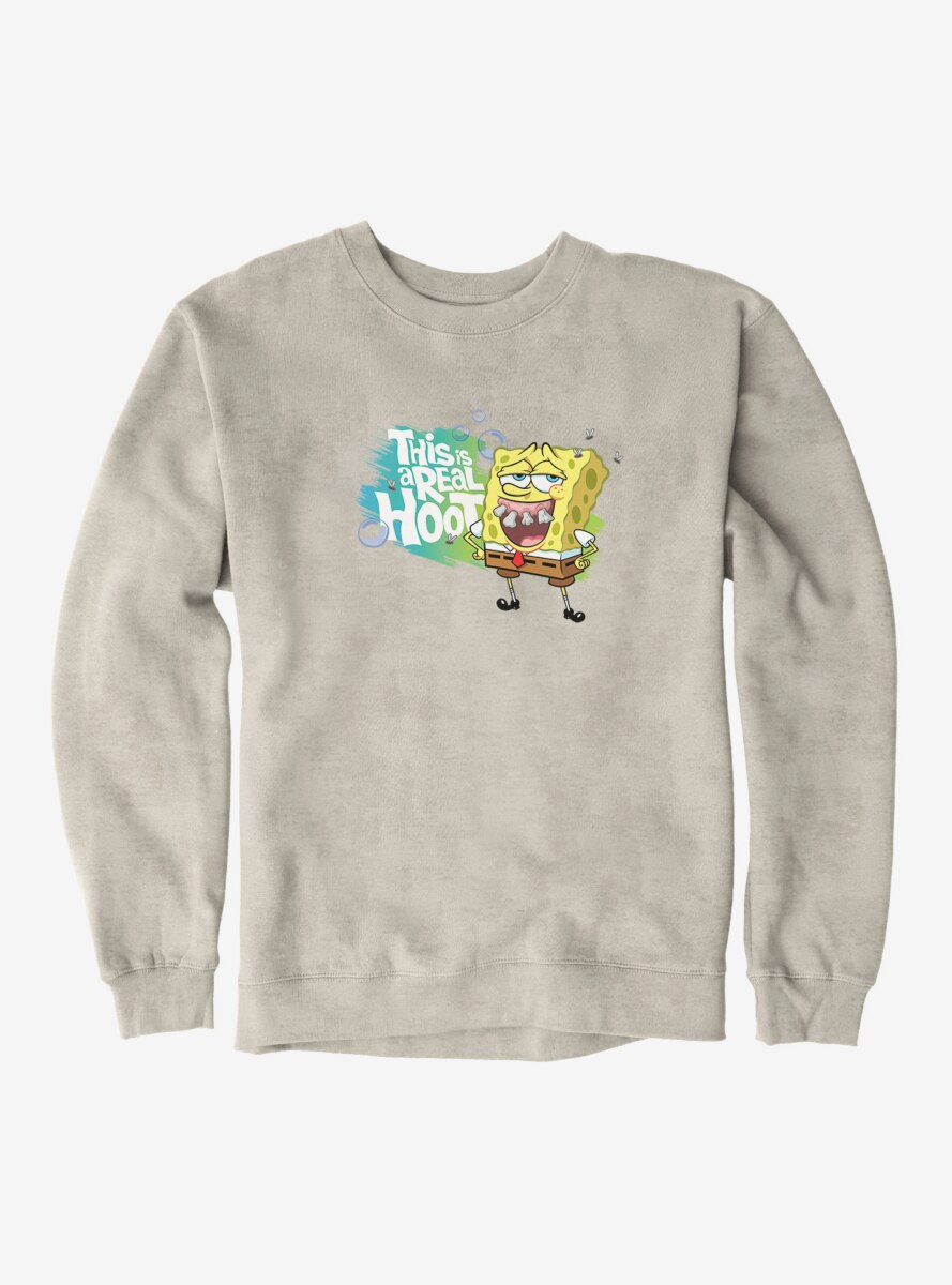 SpongeBob SquarePants This Is A Real Hoot Sweatshirt