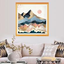 Mountain Pattern Diamond Painting