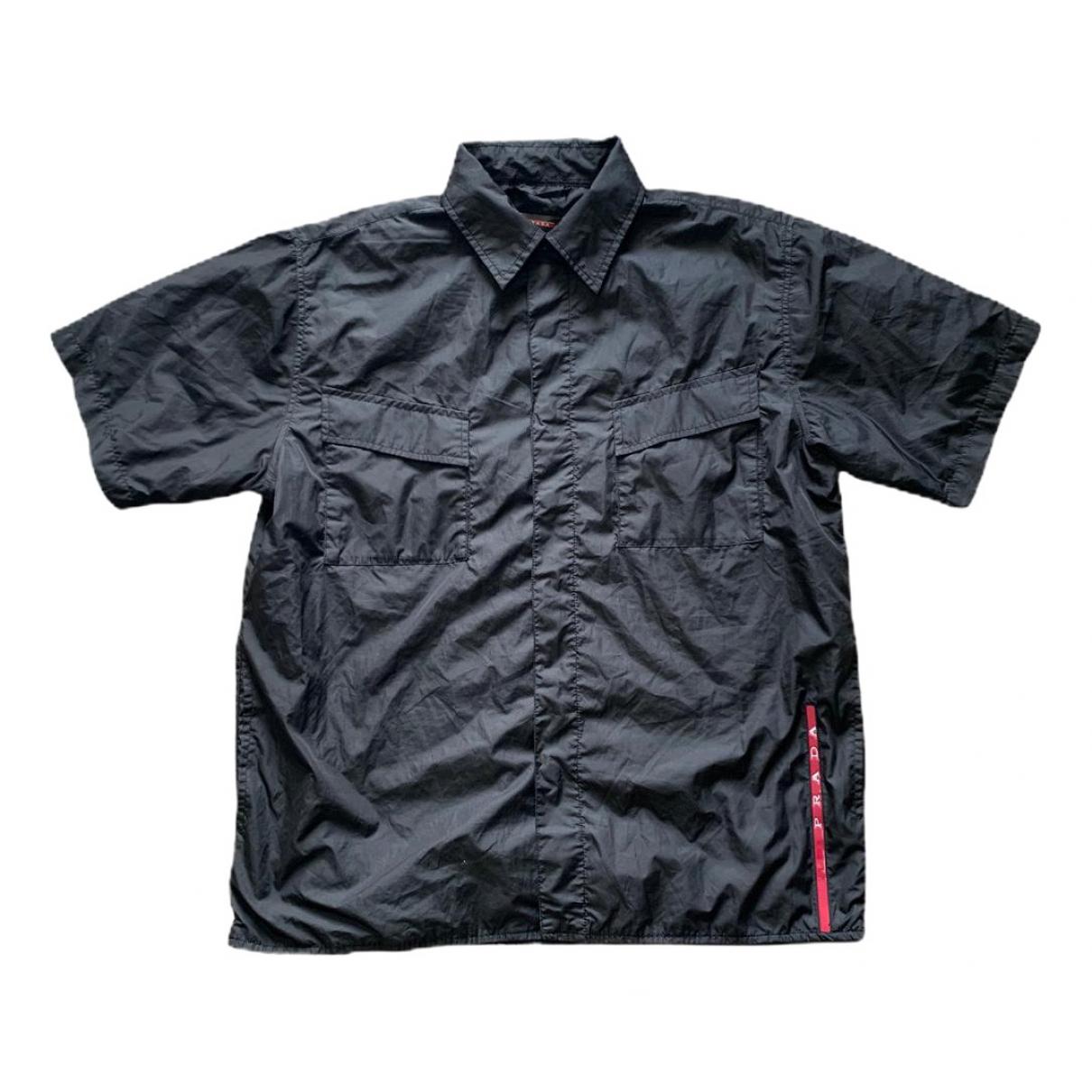 Prada \N Black Shirts for Men L International