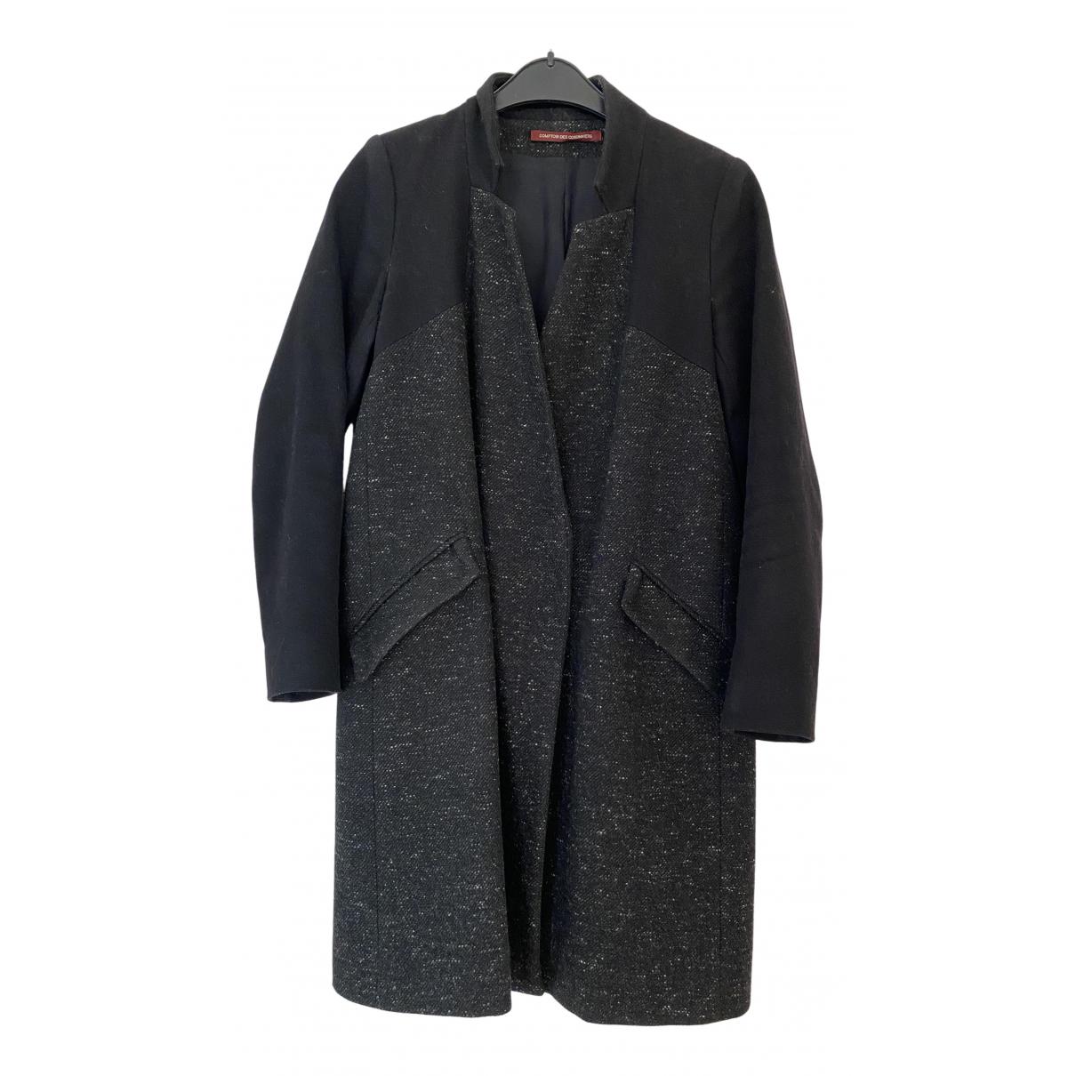 Comptoir Des Cotonniers \N Maentel in  Schwarz Wolle