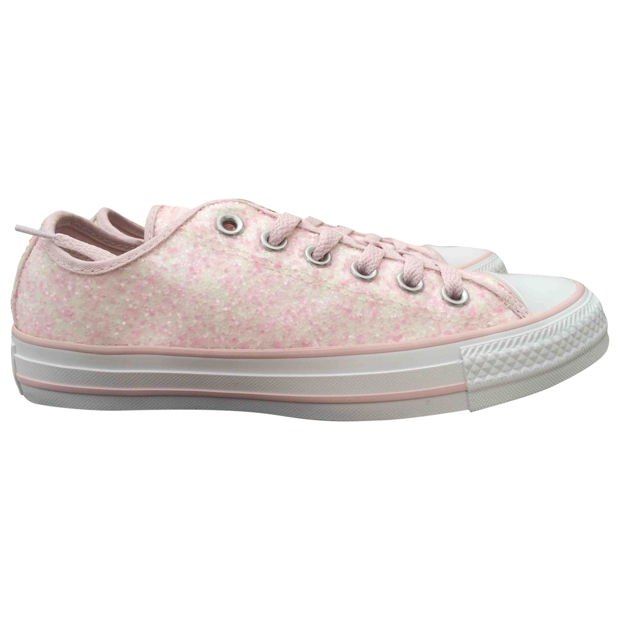 Converse \N Pink Cloth Trainers for Women 37.5 EU