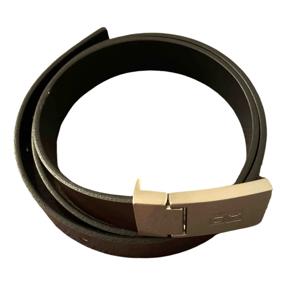 Adolfo Dominguez \N Brown Leather belt for Women 95 cm