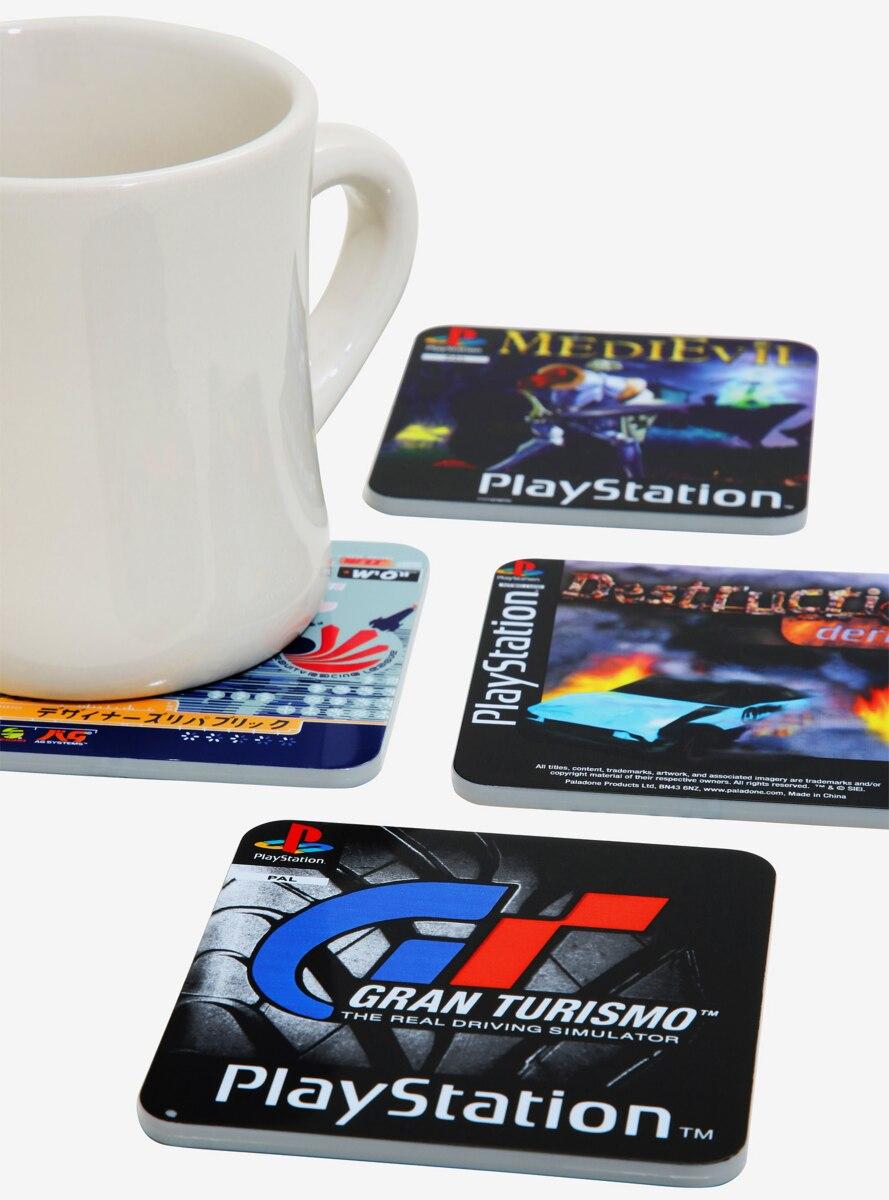 PlayStation Games Coaster Set