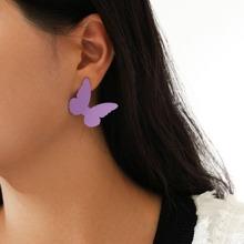 Ohrringe mit Schmetterling Design