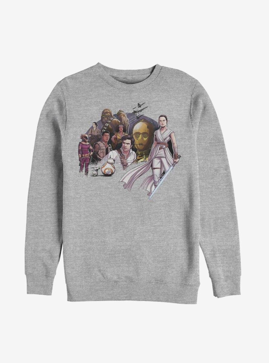 Star Wars Episode IX The Rise Of Skywalker Light Side Sweatshirt