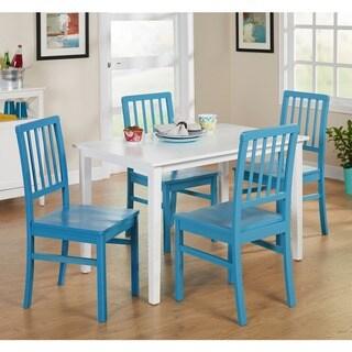 Simple Living 5-Piece Camden Dining Set (Blue)