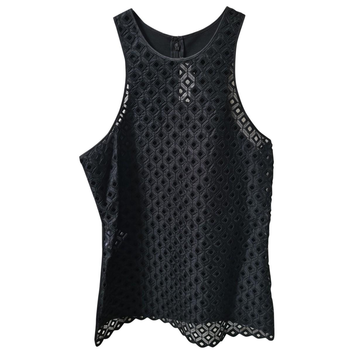 Stella Mccartney - Top   pour femme en coton - noir