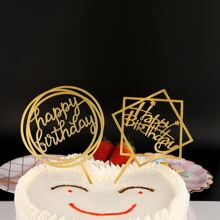 Birthday Cake Topper Decoration 1pc