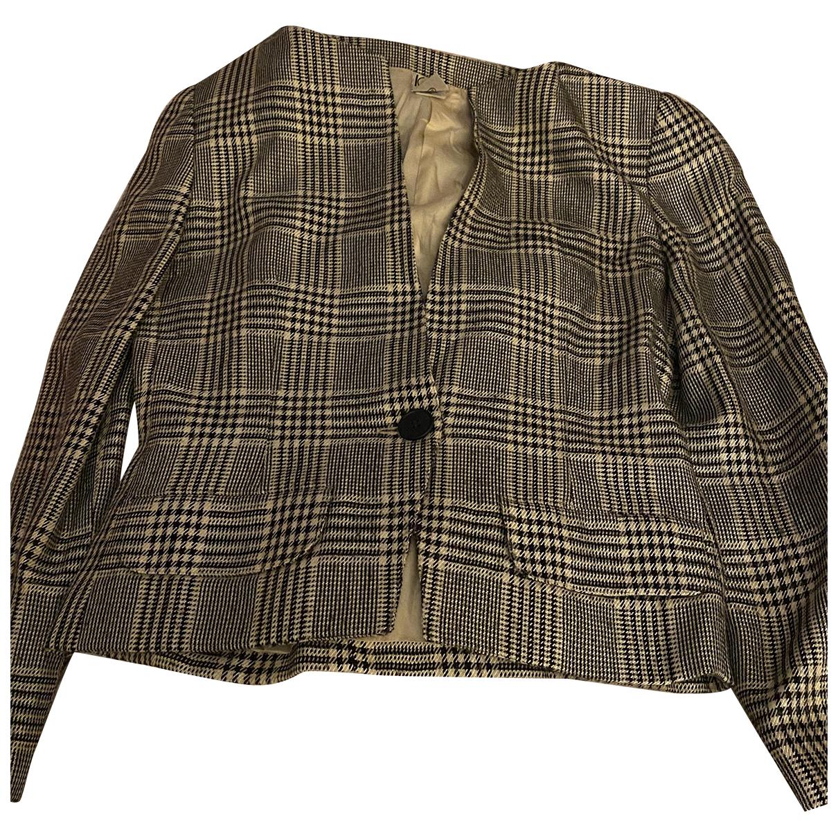 Krizia - Manteau   pour femme en laine