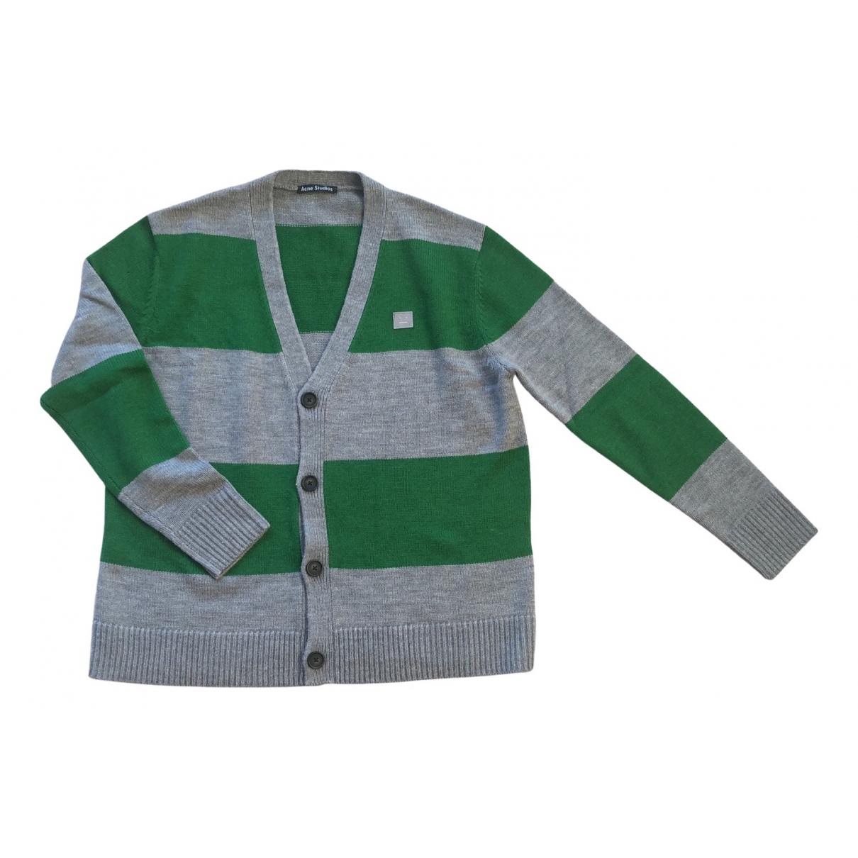 Acne Studios \N Green Wool Knitwear & Sweatshirts for Men M International