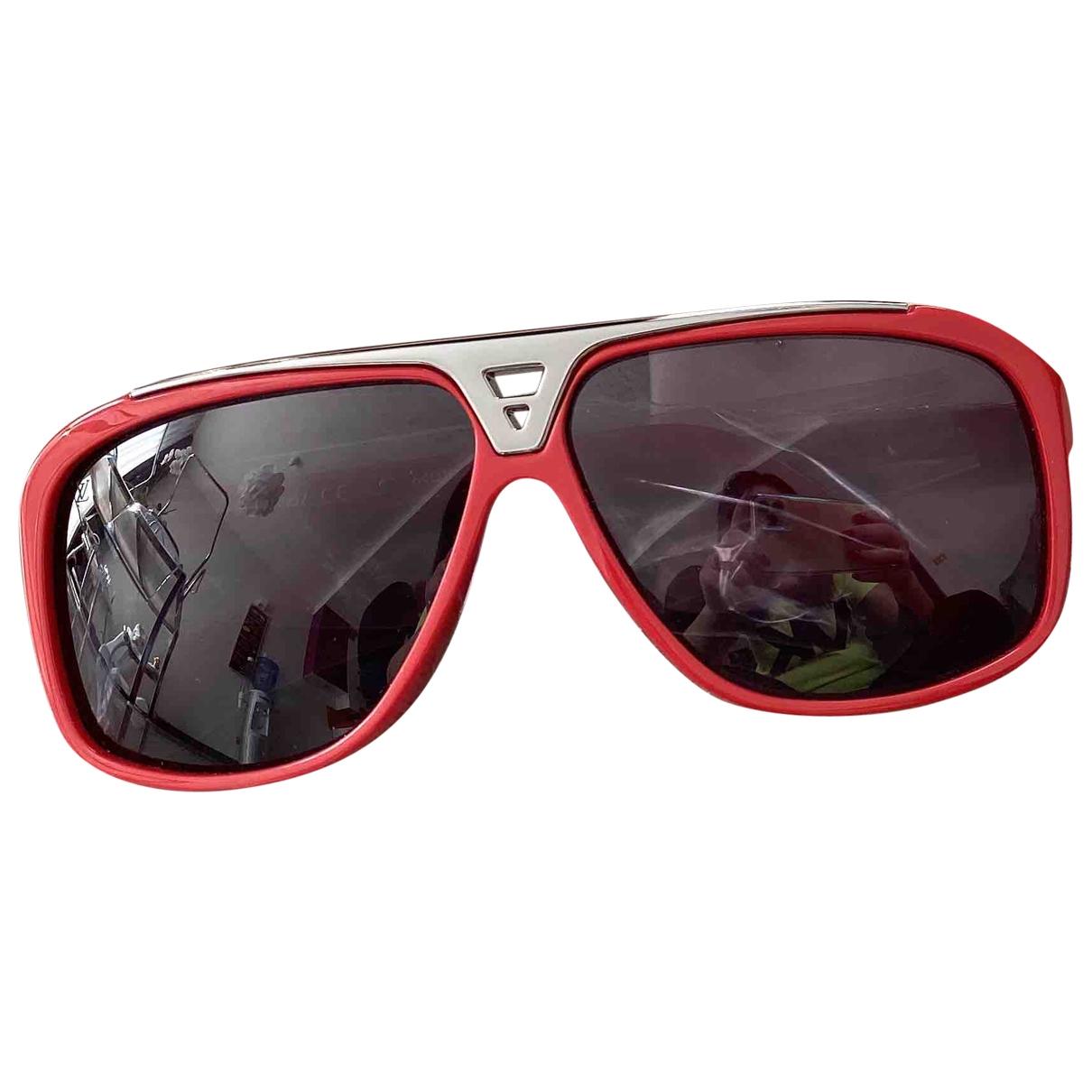 Louis Vuitton - Lunettes   pour homme - rouge