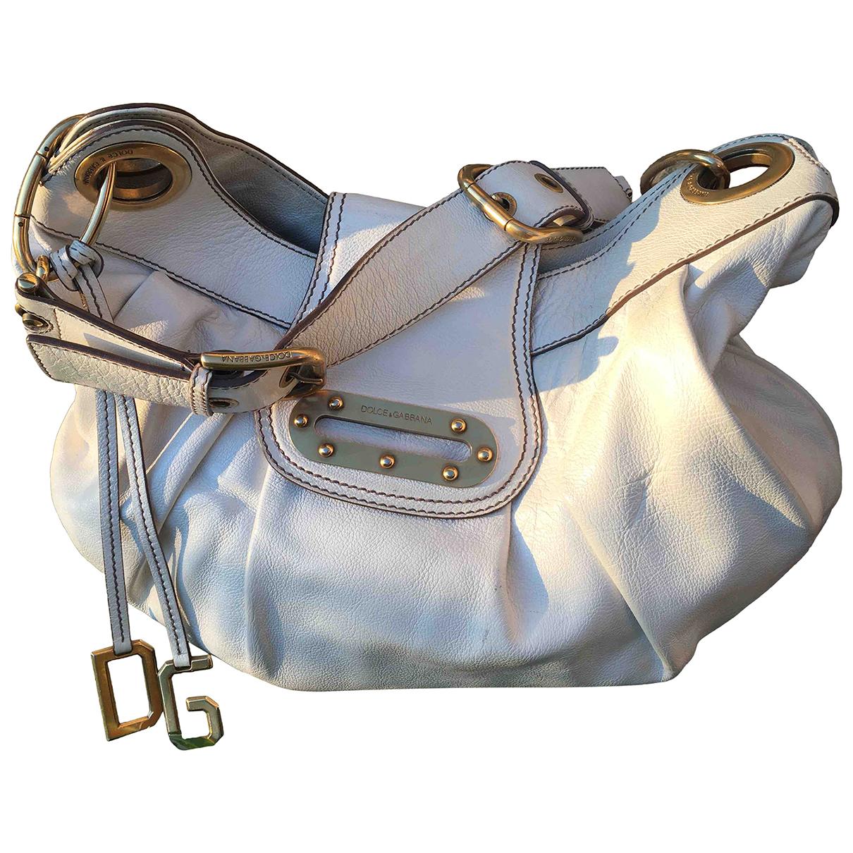 Dolce & Gabbana N White Leather handbag for Women N