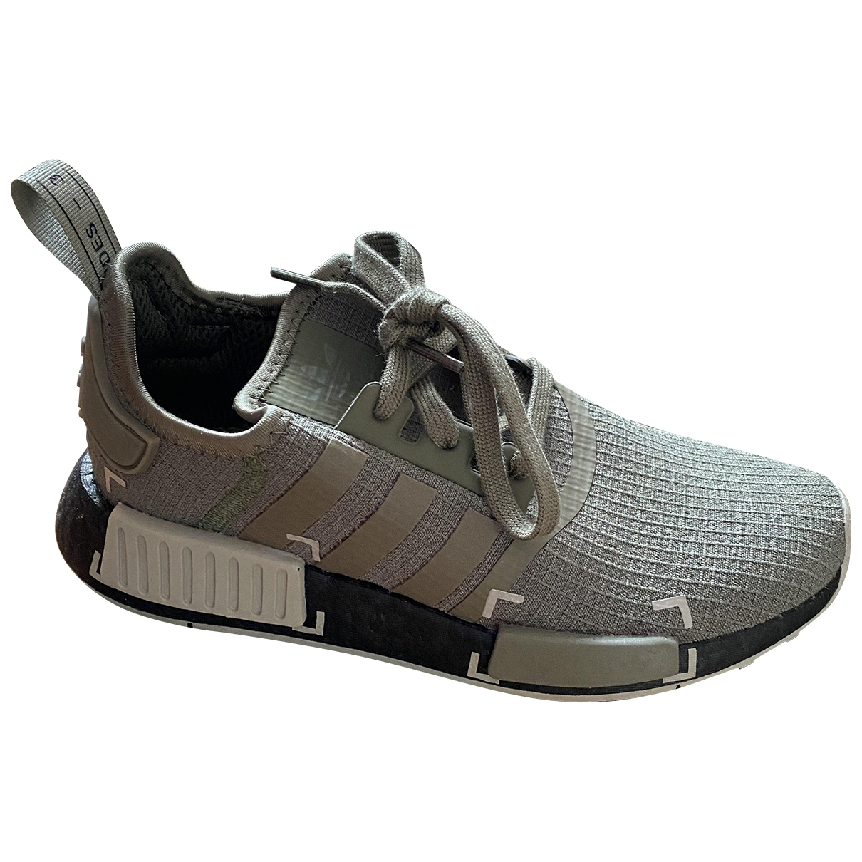 Adidas Nmd Khaki Cloth Trainers for Women 38 EU