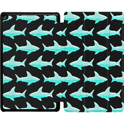 Amazon Fire HD 8 (2017) Tablet Smart Case - Neon Sharks  von caseable Designs