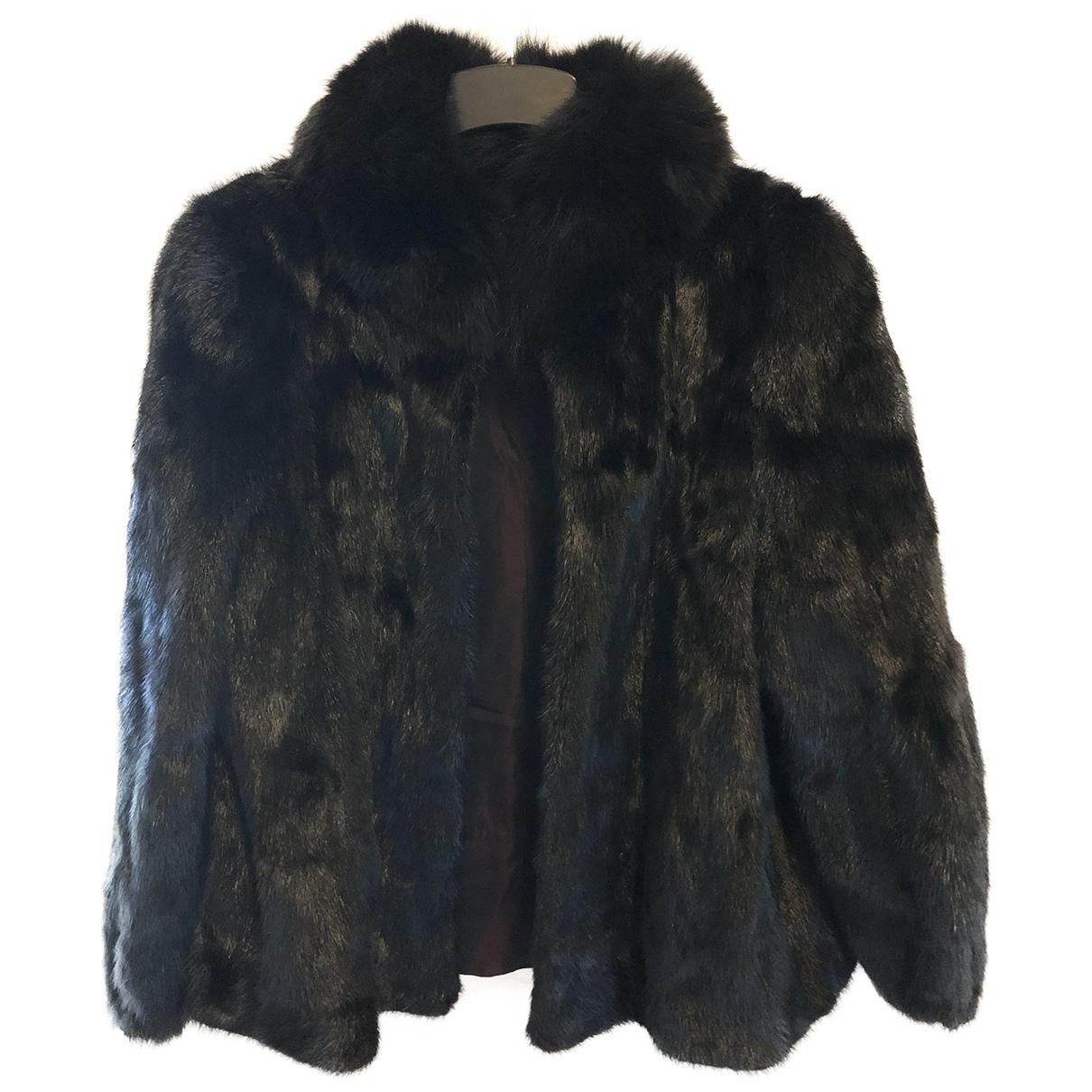 Non Signé / Unsigned \N Black Mink coat for Women M International