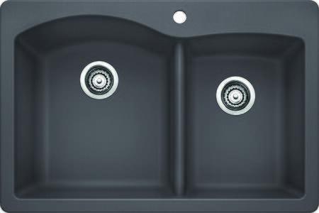Diamond 441465 Double Bowl Dual Deck Sink  in