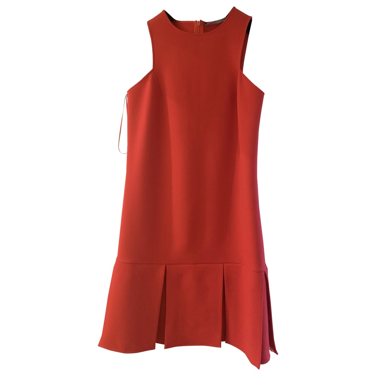 Ermanno Scervino \N Red Wool dress for Women 38 IT