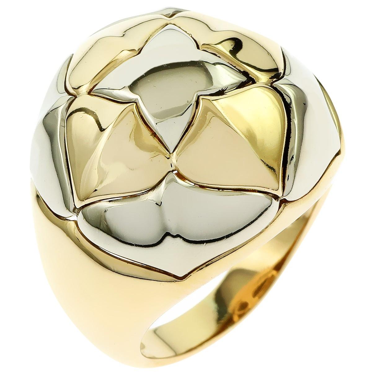 Bvlgari \N Ring in  Gelb Weissgold