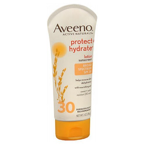 Aveeno Active Naturals Protect Plus Hydrate Lotion SPF 30 3 oz by Aveeno