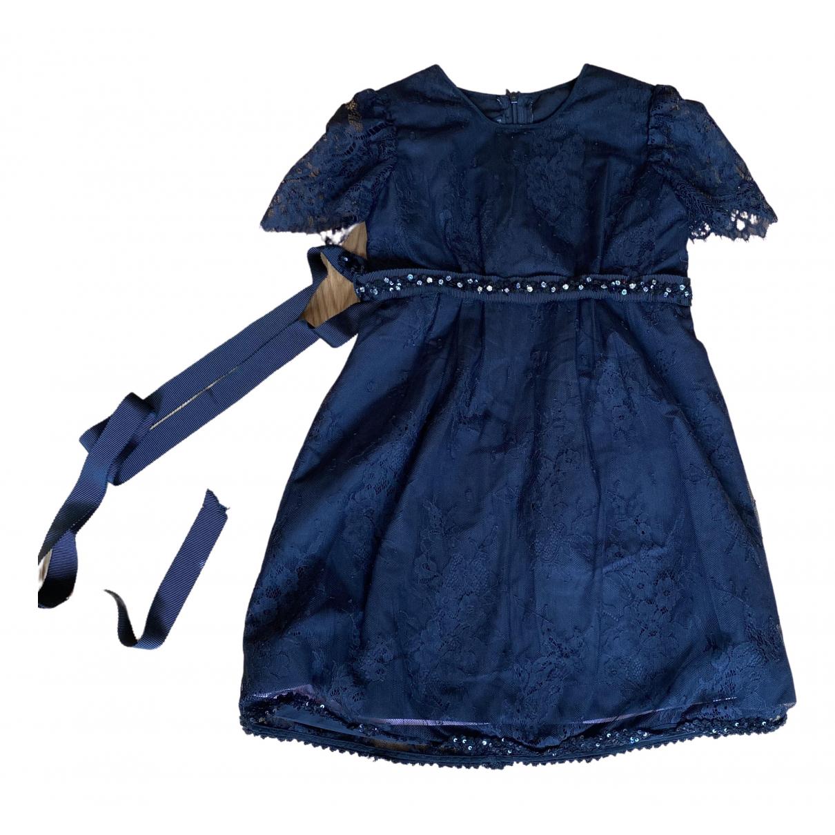 Non Signe / Unsigned \N Kleid in  Schwarz Synthetik