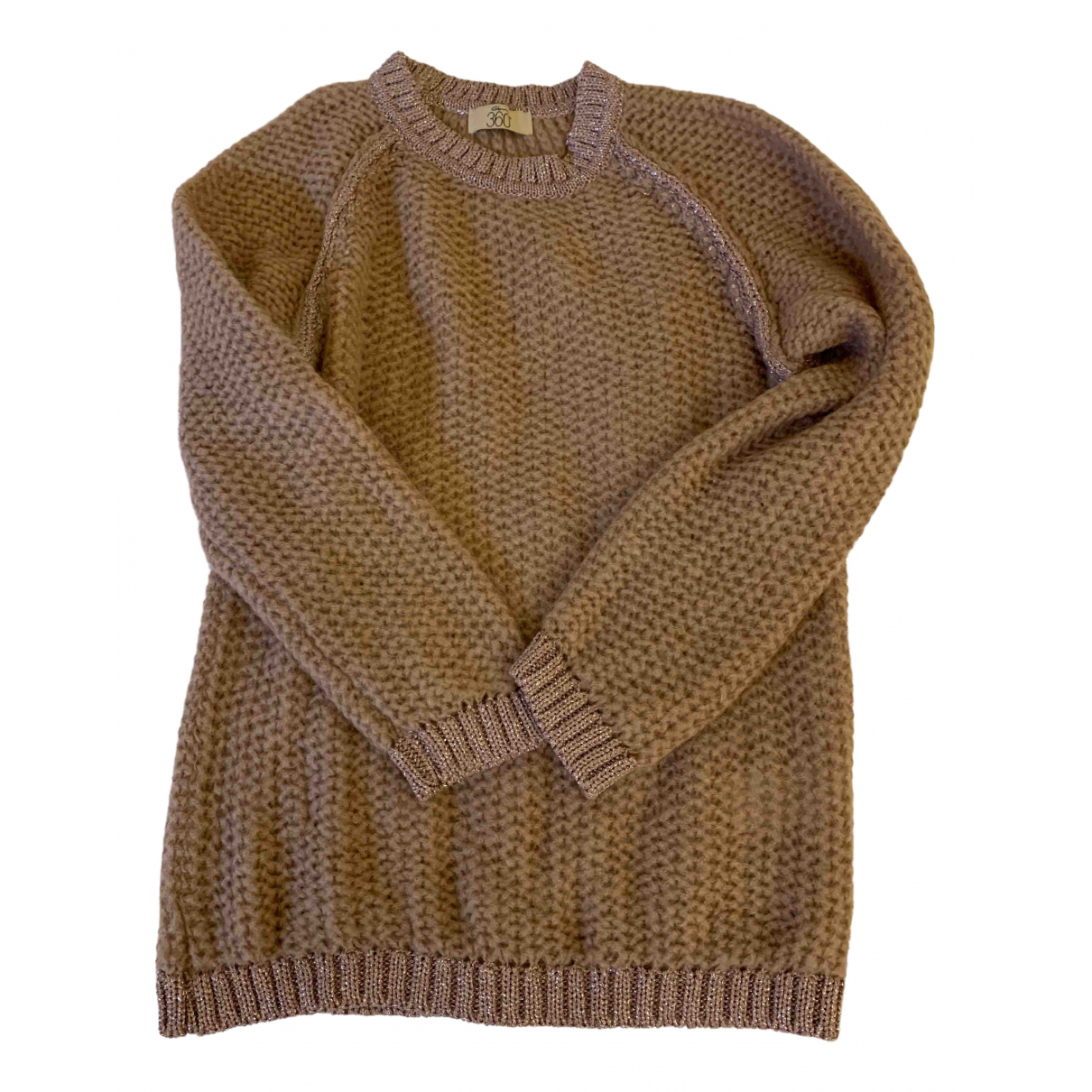 Non Signé / Unsigned N Pink Wool Knitwear for Women One Size IT