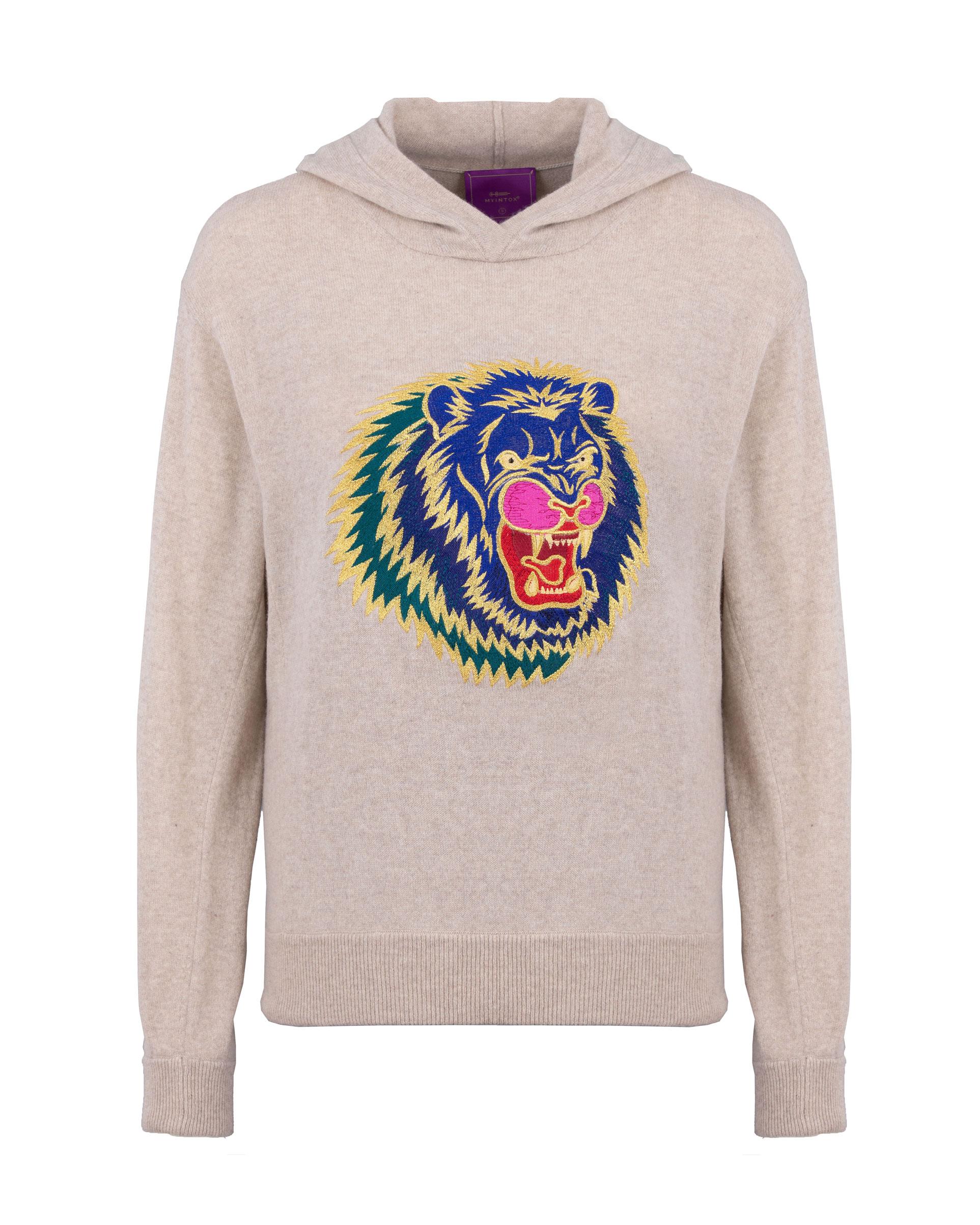 Crazy Lion Hoody - XS