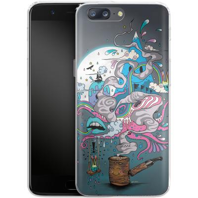 OnePlus 5 Silikon Handyhuelle - Pipe Dreams von Mat Miller