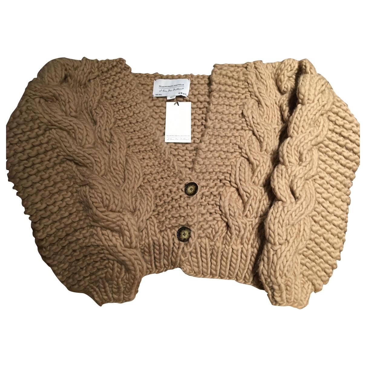 I Love Mr Mittens \N Beige Wool Knitwear for Women M International