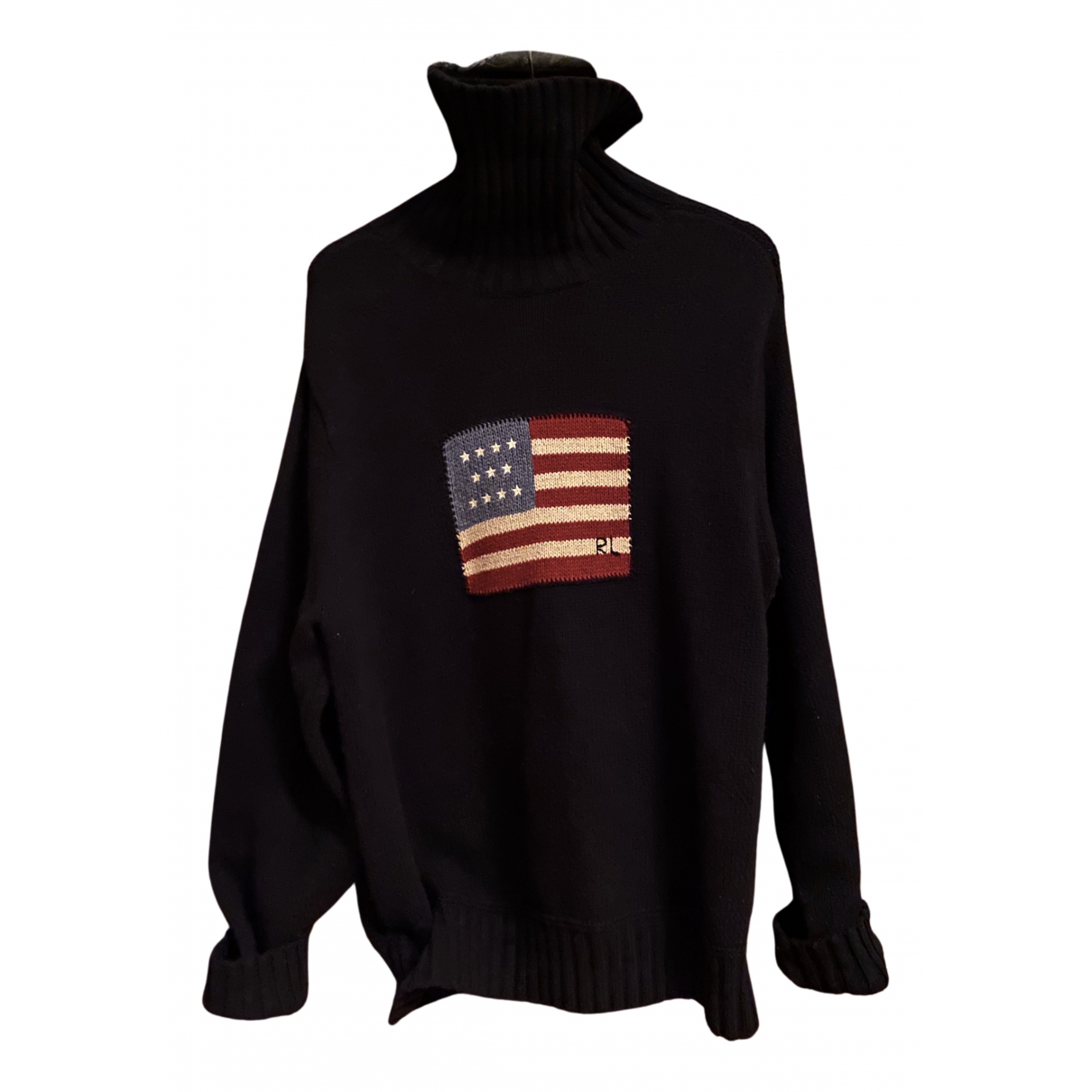 Polo Ralph Lauren \N Pullover.Westen.Sweatshirts  in  Blau Wolle