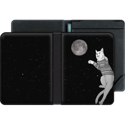 tolino vision 3 HD eBook Reader Huelle - Hipster Cat Trying to Catch the Moon von Barruf