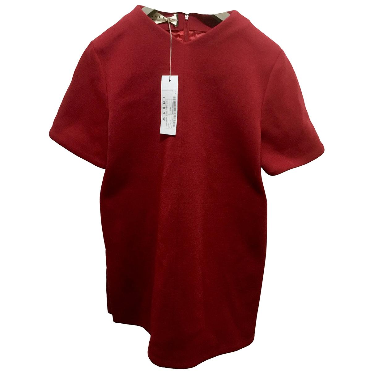 Marni \N Red Wool dress for Women 44 IT