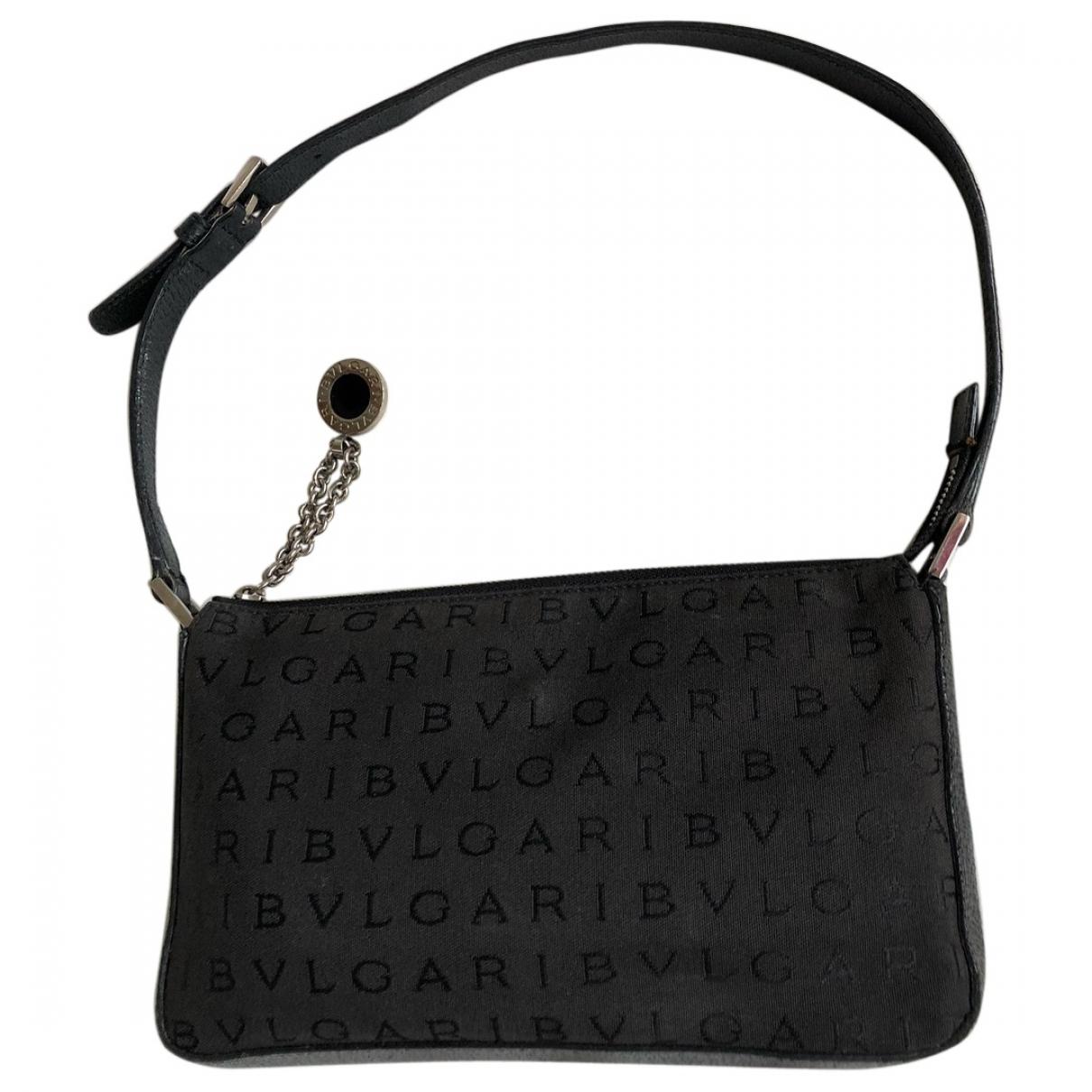 Bvlgari \N Black Cloth handbag for Women \N