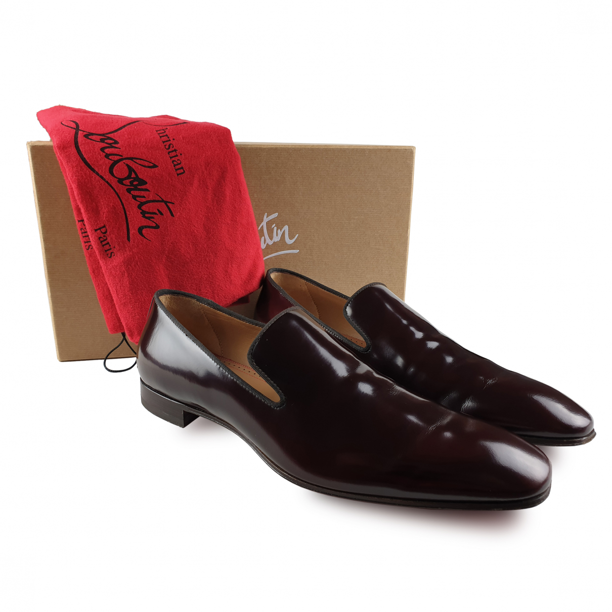 Christian Louboutin \N Leather Boots for Men 43.5 EU